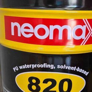 Sản phẩm sơn chống thấm polyurethane 1 thành phần tạo màng đàn hồi kháng tia UV Neomax 820 - Thùng 8kg