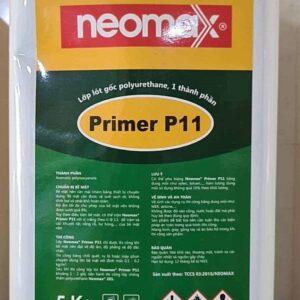 Sản phẩm sơn lót chống thấm PU Neomax P11 - Thùng 5kg