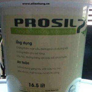 Sản phẩm dung dịch chống thấm Prosil 7 - Thùng 16.5 lít