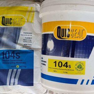 Sản phẩm chống thấm Quicseal 104S bộ 40kg