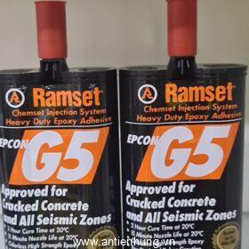KEO CẤY THÉP RAMSET EPCON G5 | HÓA CHẤT NEO CẤY THÉP