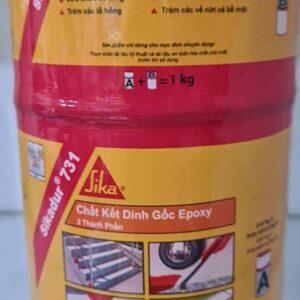 Sản phẩm Sikadur 731 - Chất kết dính đa năng Epoxy 2 thành phần - Bộ 1kg