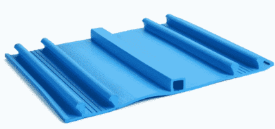 Băng cản nước PVC KC200 chống thấm mạch ngừng bê tông