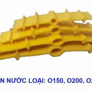 Băng cản nước PVC O150 chống thấm khe co giãn bê tông