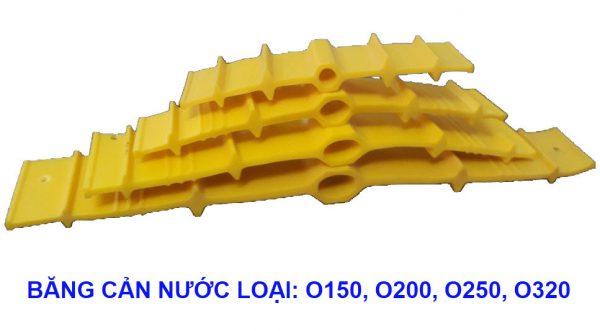 Băng cản nước o150 - Waterstop PVC O150 1,100,000 đ