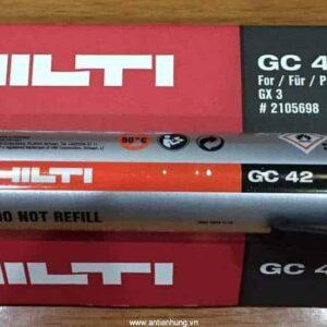 Bình gas Hilti GC42