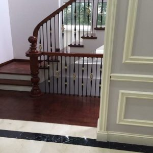Cầu thang sắt mỹ thuật đẹp CTTA 015