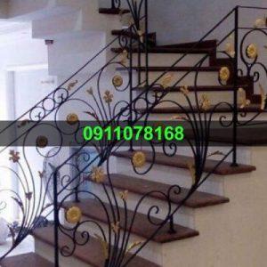 Cầu thang sắt mỹ thuật đẹp CTTA 024