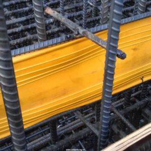 Thi công lắp đặt băng cản nước PVC V150