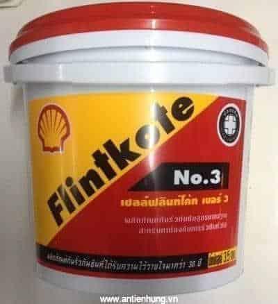 Shell Flintkote No 3 thùng 3,5 lít
