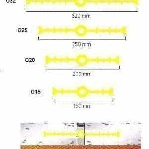 Sika Waterbar O25 băng cản nước chống thấm khe co giãn bê tông