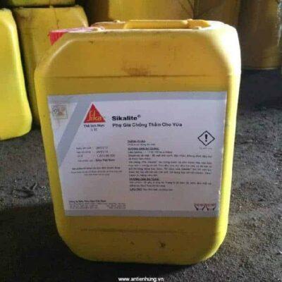 Sikalite | Phụ gia chống thấm cho vữa