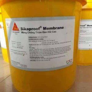 Sikaproof Membrane | Sơn chống thấm gốc Bitum