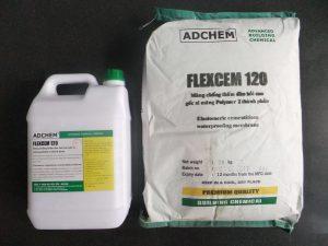 Sơn chống thấm xi măng polymer Adchem Flexcem 120