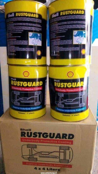 Shell RustGard - Sơn chống gỉ chống ăn mòn cho gầm xe ô tô