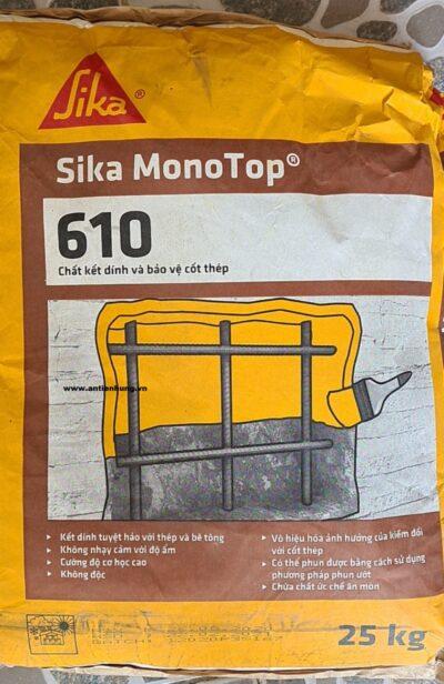 SIKA MONOTOP 610 | CHẤT KẾT NỐI VÀ BẢO VỆ BÊ TÔNG CỐT THÉP