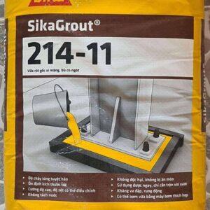 Vữa rót Sikagrout 214-11 không co ngót - Bao 25kg
