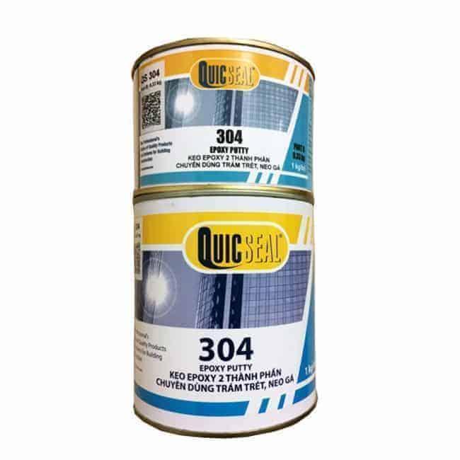 Keo cấy thép QuicSeal 304 LV dùng cho thép nhỏ