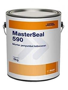 Masterseal 590 - Vữa đông cứng nhanh chặn nước