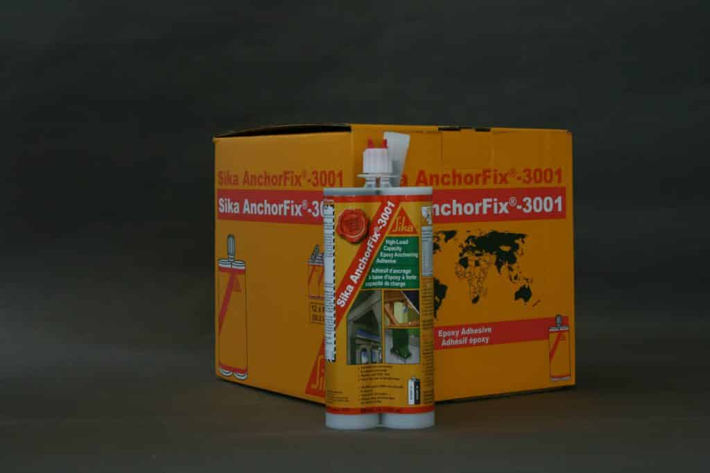 Sản phẩm keo cấy thép Sika Anchorfix 3001