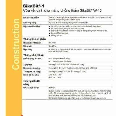Vữa kết dính Sikabit 1
