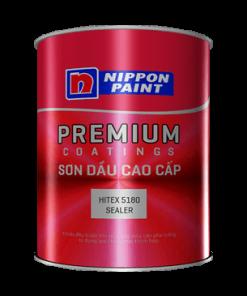 SƠN LÓT NGOẠI THẤT GỐC DẦU NIPPON HITEX 5180 SEALER LON 5 LÍT