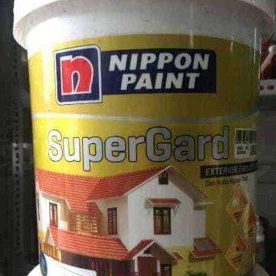 SƠN PHỦ NGOẠI THẤT NIPPON SUPER GARD TRẮNG