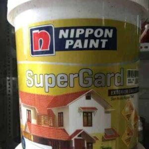 SƠN PHỦ NGOẠI THẤT NIPPON SUPER GARD TRẮNG LON 5 LÍT