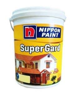 SƠN PHỦ NGOẠI THẤT NIPPON SUPER GARD MÀU 5 LÍT