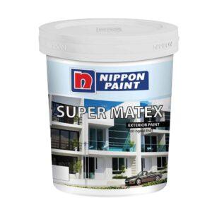 SƠN PHỦ NGOẠI THẤT NIPPON SUPER MATEX 5 LÍT