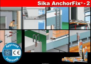 Thi công keo cấy thép Sika Anchorfix 2