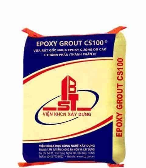 VỮA RÓT GỐC NHỰA EPOXY GROUT CS100