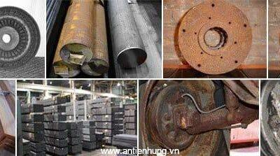 Xử lý gỉ sắt thép bằng chất tẩy gỉ B05