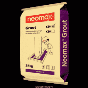 Vữa rót không co ngót 60Mpa Neomax Grout C60