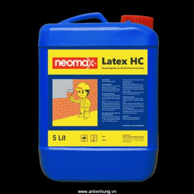 Phụ gia chống thấm cho vữa và hồ dầu kết nối Neomax Latex HC
