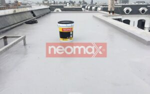 Thi công chống thấm sân thượng bằng sơn chống thấm Polyurethane Neomax 820