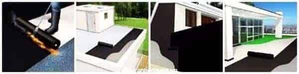 Thi công màng chống thấm khò nóng Sika Bituseal T140 SGThi công màng chống thấm khò nóng Sika Bituseal T140 SG