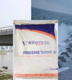 Phụ gia chống thấm, chống xâm thực cho bê tông Vinkems Fume D