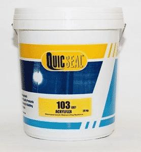 Sản phẩm Sơn chống thấm gốc Acrylic Quicseal 103