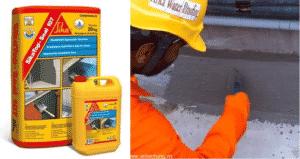 sản phẩm vữa chống thấm Sikatop Seal 107