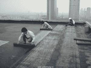 Sử dụng màng Copernit chống thấm mái nhà