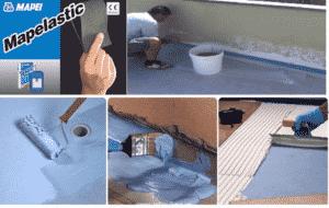 Thi công chống thấm với sơn Mapei K11