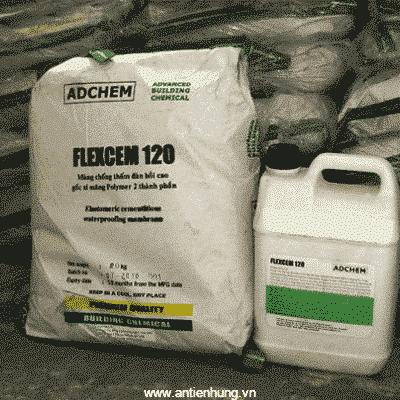 Sơn chống thấm xi măng polymer Adchem Flexcem 120 3