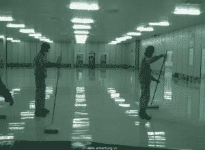 Thi công chống thấm sàn nhà với sơn Vitec XP02