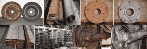 Một số hình ảnh sau khi sắt thép được xử lý bằng chất tẩy gỉ B05