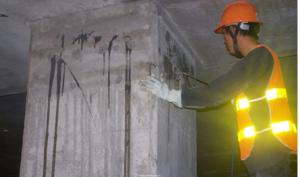 Bơm keo cấy thép Quicseal cho công trình xây dựng