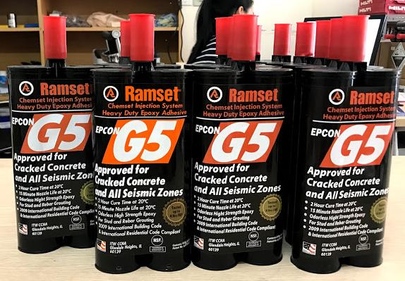 Keo cấy thép Ramset Epcon G5 2