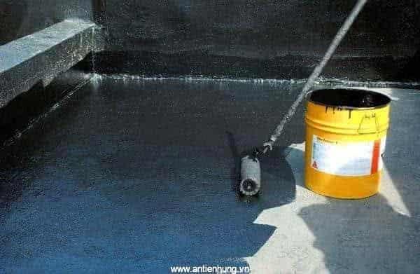 Sử dụng Sika BC Bitumen Coating