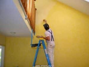 Cách thi công sơn nước
