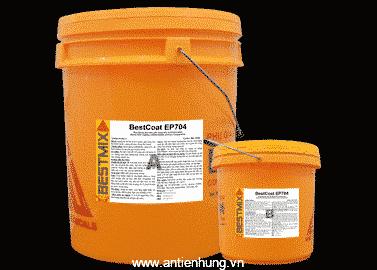 BestCoat EP704 là sơn epoxy, gốc dung môi hai thành phần